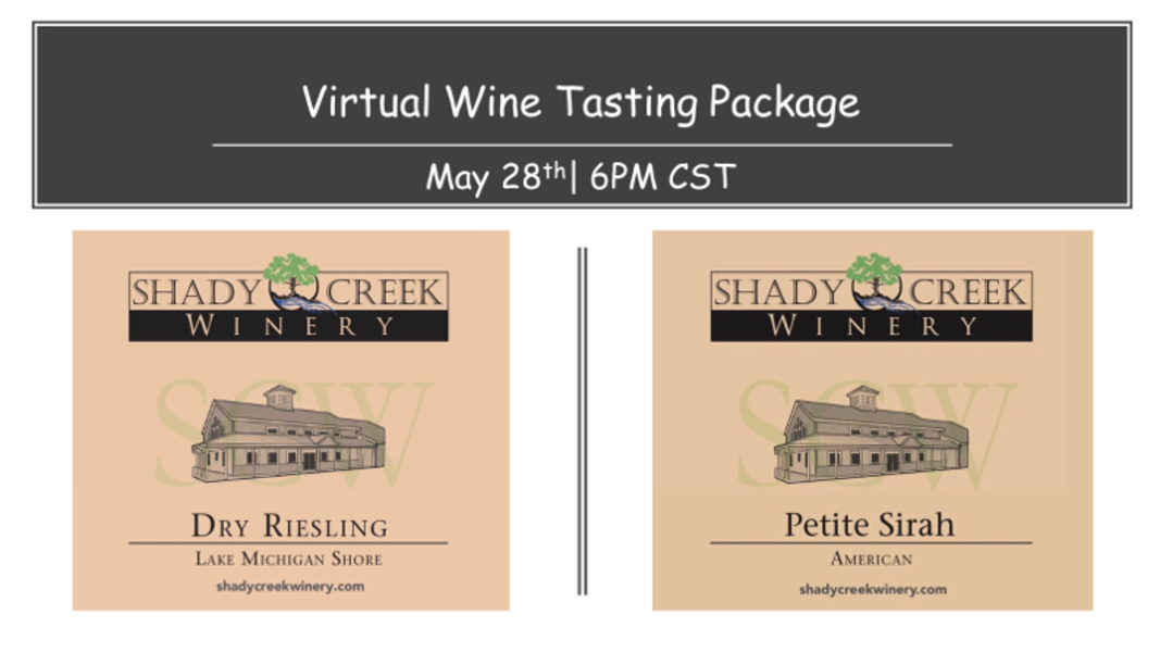 Virtual Wine Tasting Ticket May 28th