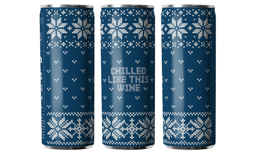 Eliqs Ugly Sweater White Wine (12-Pack)