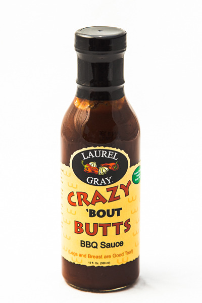 Crazy 'Bout Butts Barbecue Sauce (12 oz.)