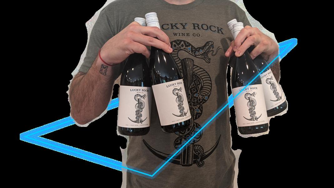 Sip N' Style Pinot Noir Gift Set