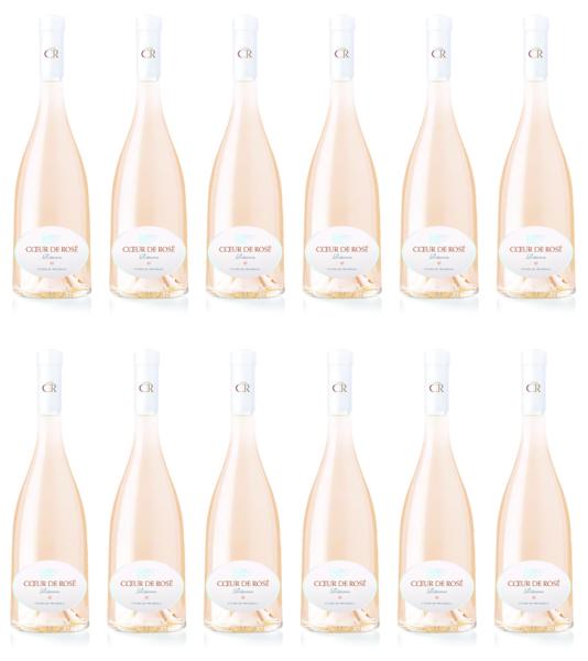 Product Image for Case of 2017 Coeur de Rosé Réserve (12 bottles/750ML)