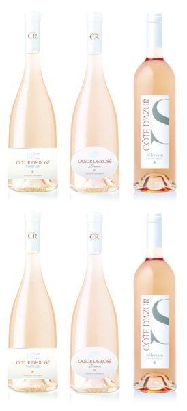 Product Image for Mixed Half Case - 2 bottles of each rosé (6 bottles/750ML)