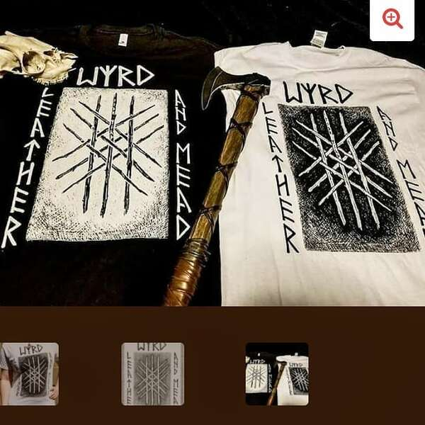 Product Image for Web of Wyrd Shirt Black - XXL