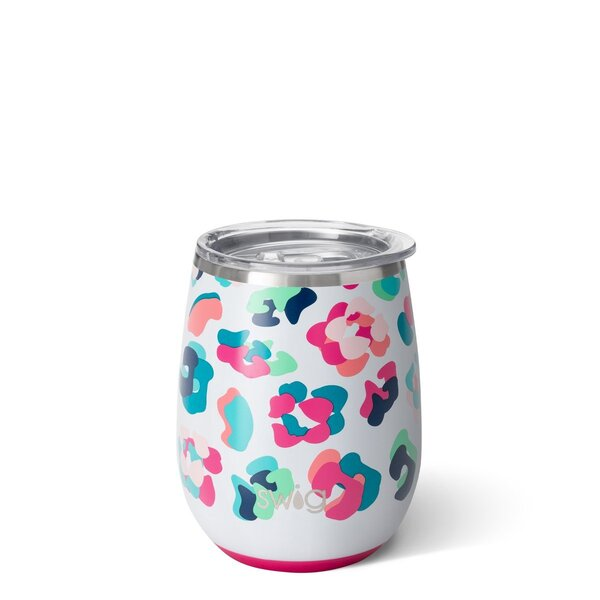 Product Image for Swig 14 oz Party Animal Wine Tumbler