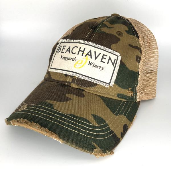 Beachaven Winery Logo Hat - Camo