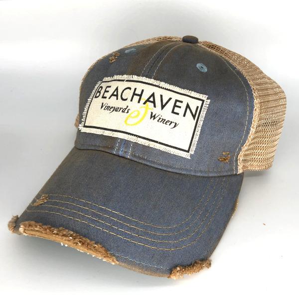 Beachaven Winery Logo Hat - Light Blue