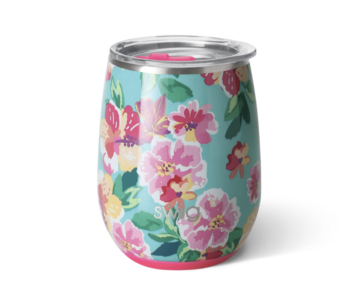 Product Image for Island Bloom 14oz Stemless Wine Cup