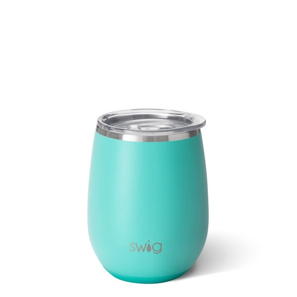 Product Image for Swig Matte Aqua 14 oz