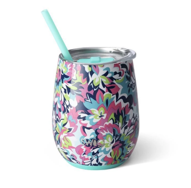 Product Image for Frilly Lilly 14oz Stemless Wine Cup