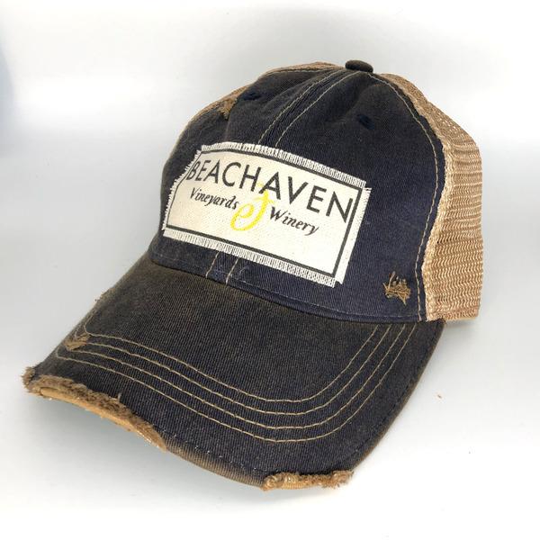 Beachaven Winery Logo Hat - Navy
