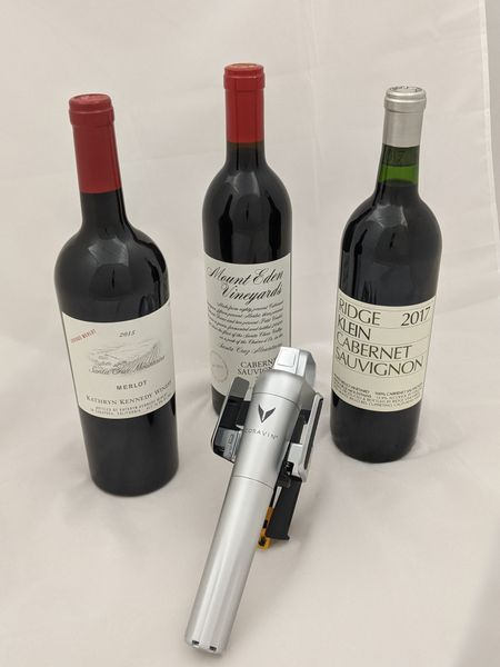 Mountain Bordeaux Package with Coravin