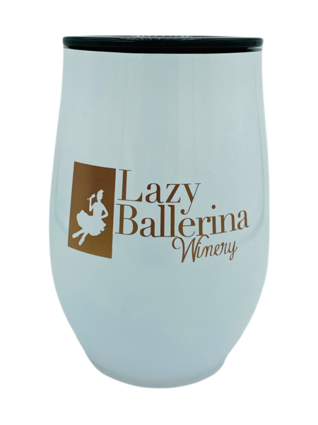 White Logo Sippy Cup