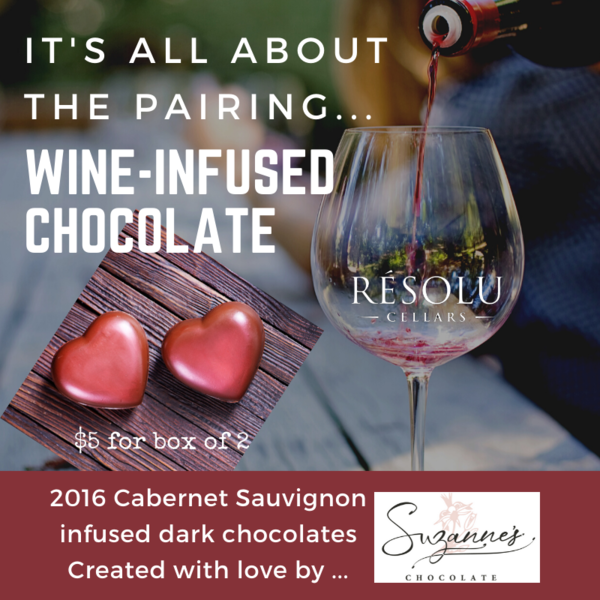 Product Image for Wine Infused Chocolates - 2 pk