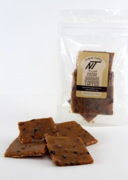 Naked Toffee Cacao Bourbon Toffee