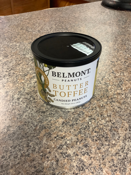 Peanuts Belmont Butter Toffee