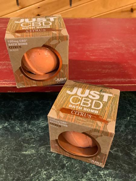 Just CBD Bath Bomb Citrus Scent