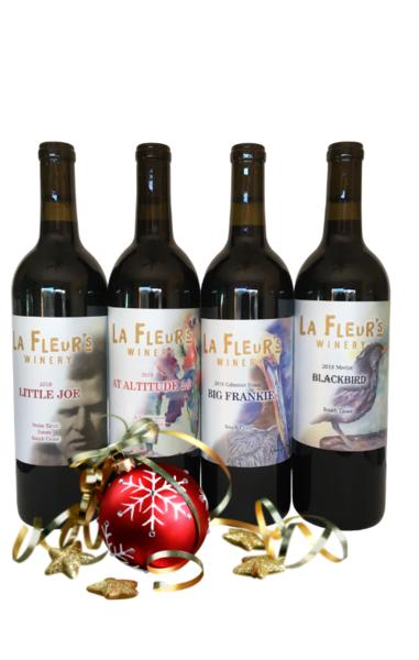 4 Bottle Red Wine Gift Set