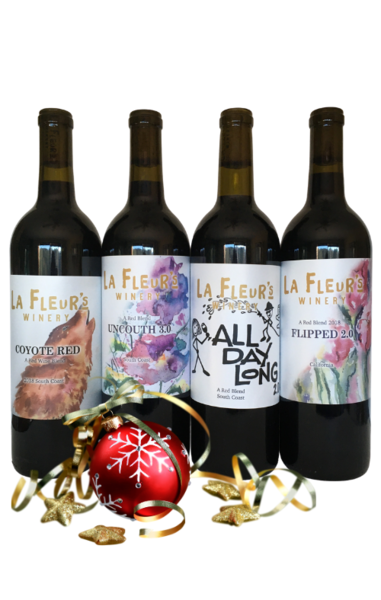 4 Red Blend Wine Gift Set