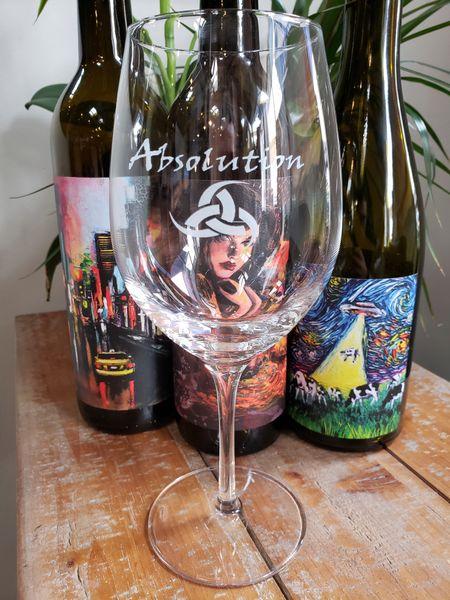 Stozle Stemed Wine Glass