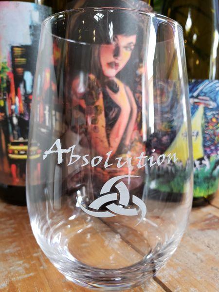 Stozle Stemless Wine Glass