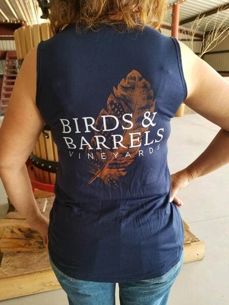 Birds and Barrels A-line tank top