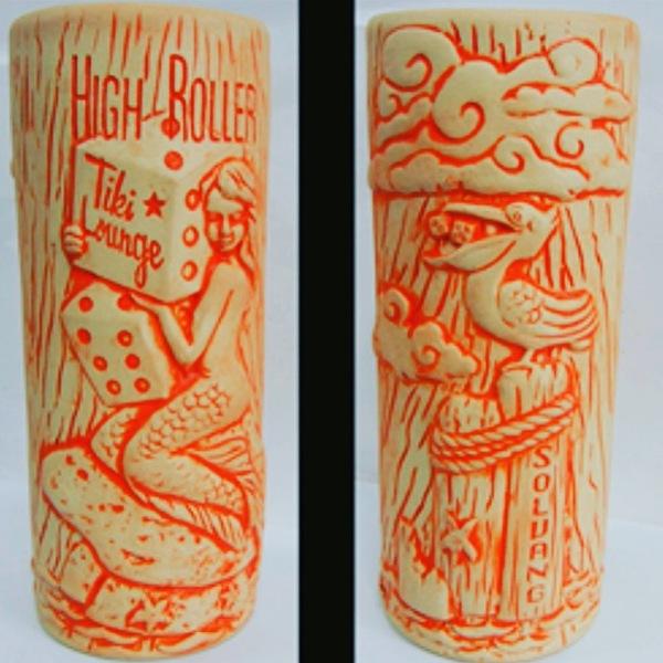 High Roller Tiki Mermaid Mug