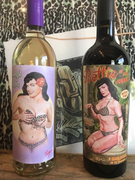 Jungle Bettie Wine Set 2pack