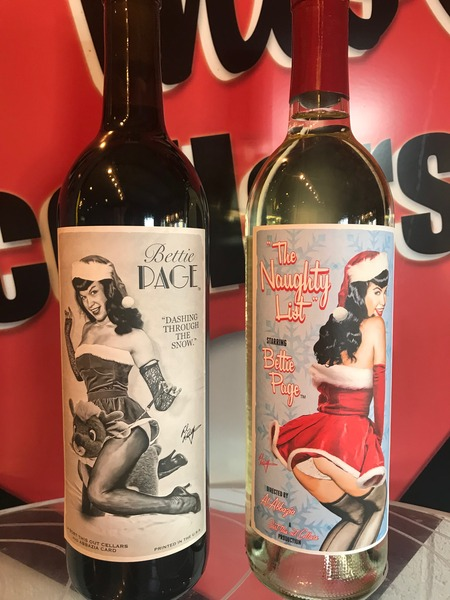 Product Image for Bettie Page Holiday Wines Set