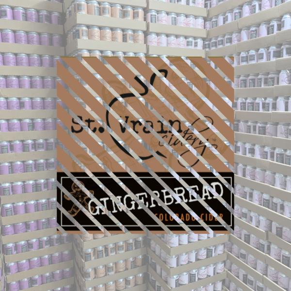 Case of Gingerbread Cider