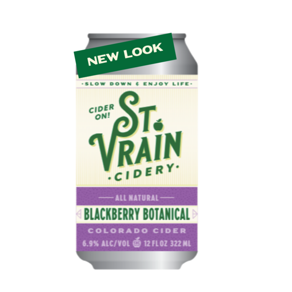 Blackberry Botanical Cider 4-Pack