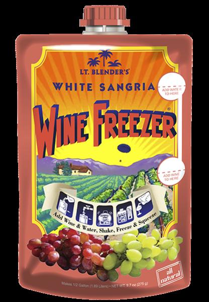 White Sangria Wine Freezer