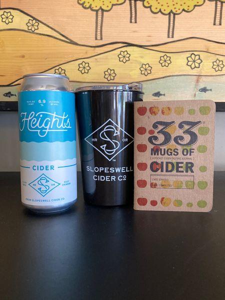 Crowler of Cider, Travel Mug + Cider Journal