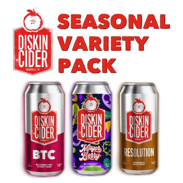 Seasonal Ciders 12-Can Variety Pack