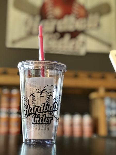 Hardball Cider Acrylic Tumbler