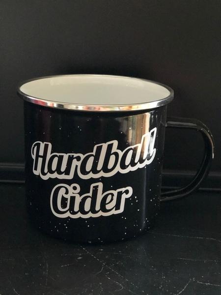 Hardball Cider Camp Mug- Black