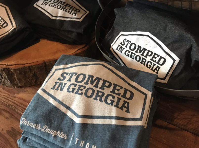 Stomped In Georgia Unisex Tee