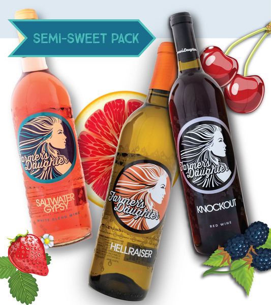 MULTIPACK - SEMI-SWEET WINES