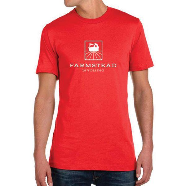 Farmstead T-Shirt - Heather Red