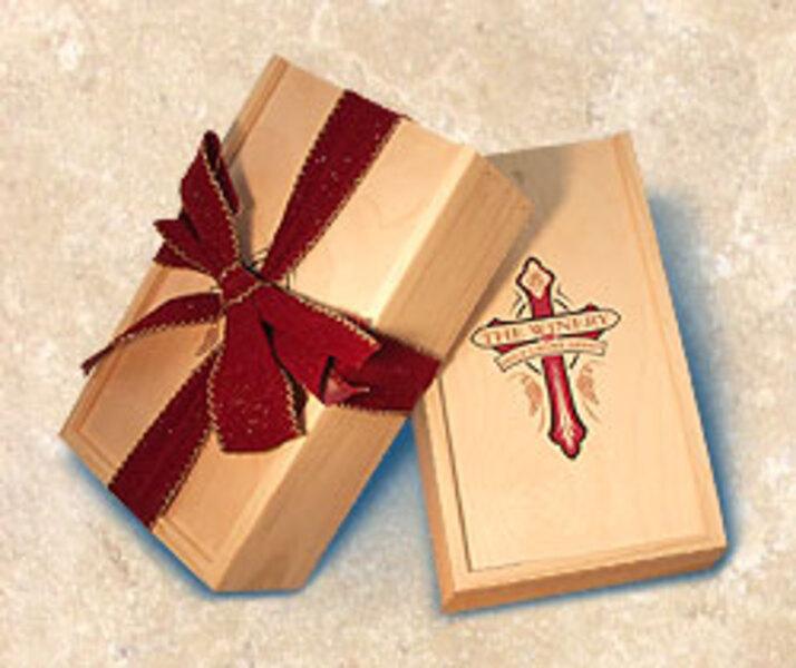 3 Bottle Wooden Gift Box