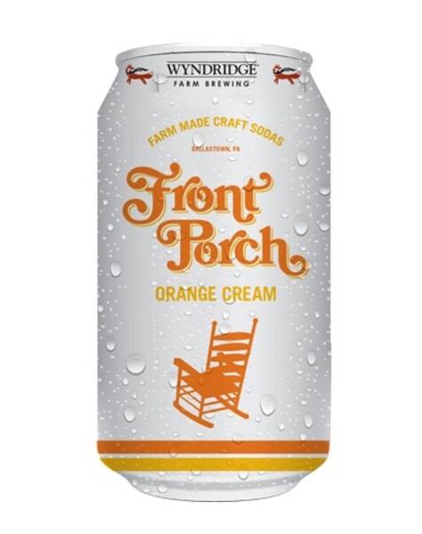 Front Porch Orange Cream Soda 12oz can 4pk