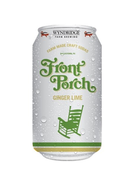 Front Porch Ginger Lime Soda 12oz can 4pk