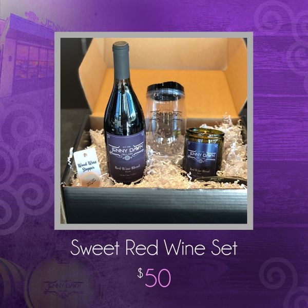Sweet Red Wine Set