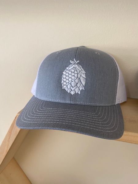 Hat white/grey