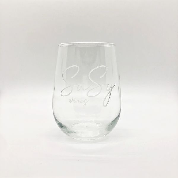 Stemless Sasy Glass