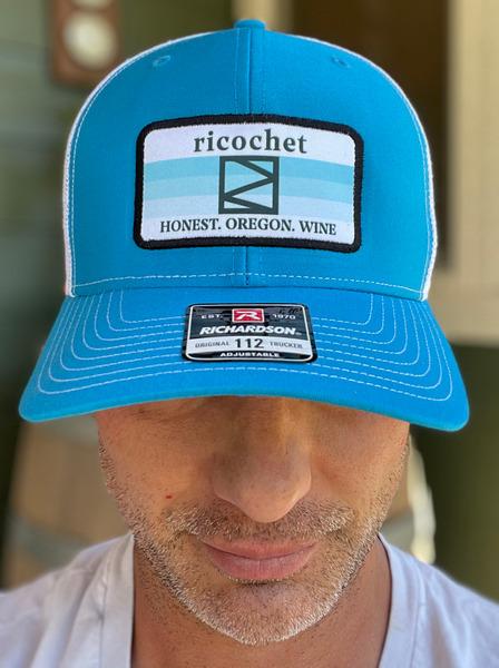 Ricochet Trucker Hat--Blue