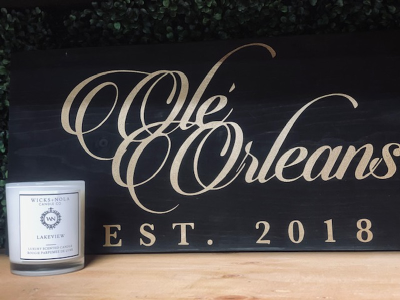 WICKS NOLA CANDLE - LAKEVIEW