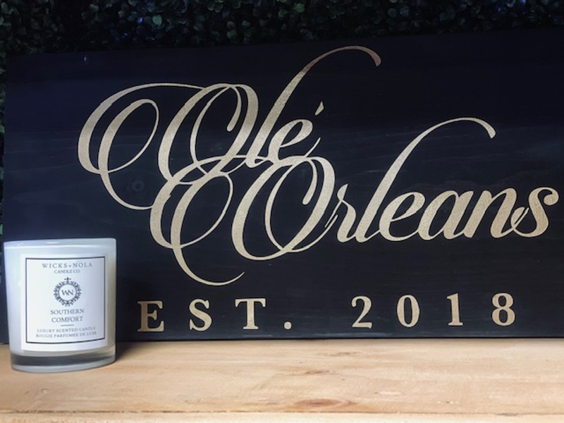WICKS NOLA CANDLE - SOUTHERN COMFORT