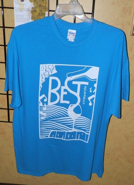 Product Image for Best Vineyards T-Shirt XL
