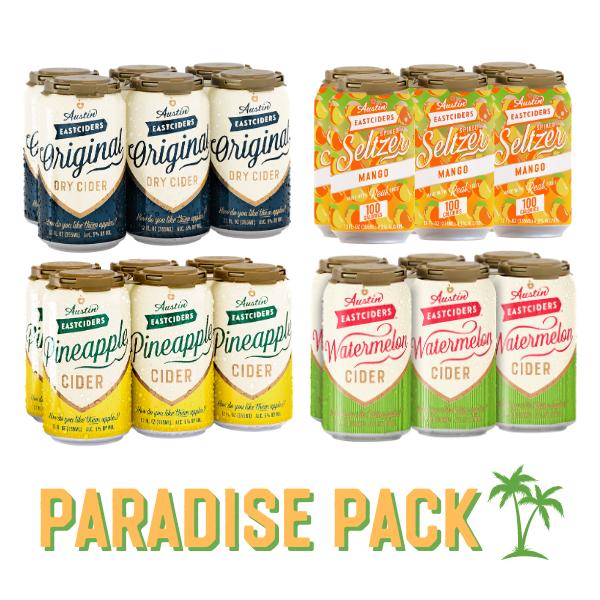 Austin Eastciders Paradise Pack