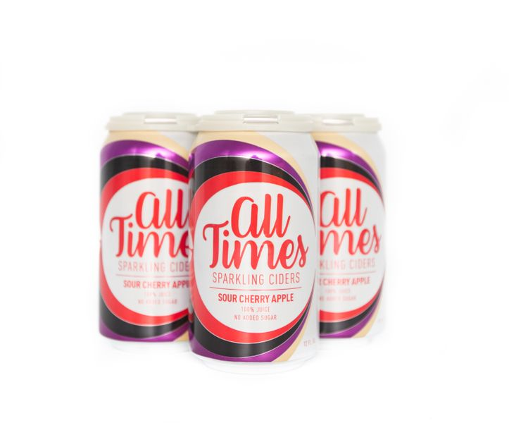 All Times Sparkling Cider - Sour Cherry